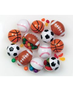 "2.5"" Sports Ball Candy Containers"