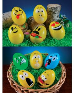 "3.5"" EasterMoji Eggs Assortment"