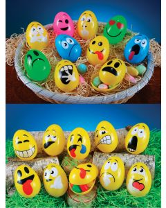 "2.5"" EasterMoji Eggs Assortment"