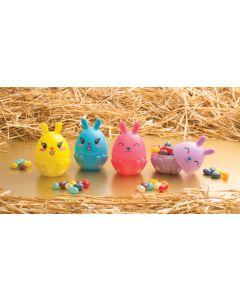 3-D Bunny Eggs w/Ears