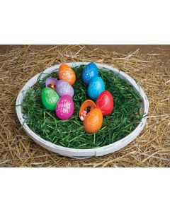 "3"" Easter Greetings Egg Assortment"