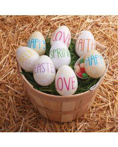 """3"""" Believe in Love Eggs"""