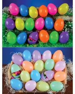 "3.5"" Mega Color Assortment Eggs"
