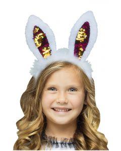 Flip Sequin Bunny Ears