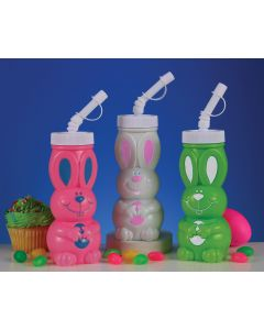 "6"" R.J. Rabbit Drink Containers"