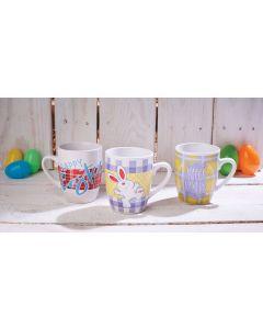 Easter Ceramic Mug Assortment