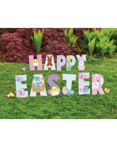 33 Piece Happy Easter Sign Set
