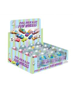 Vehicles in Eggs Assortment PDQ