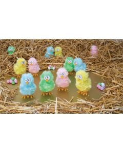 Wind-Up Cool Hoppin' Chicks