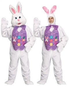 Easter Spring Bunny - DLX 2 Head Costume
