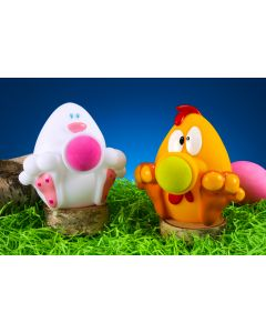 Egg Shape Poppin' Pals