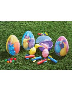 "Blast Off Bunny Fun in 5.5"" Egg"