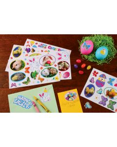 Springtime Fun - Reusable Stickers