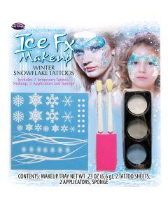 Winter Snowflake Makeup Kit