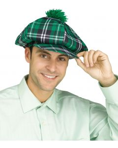 Jumbo Plaid Golf Hat