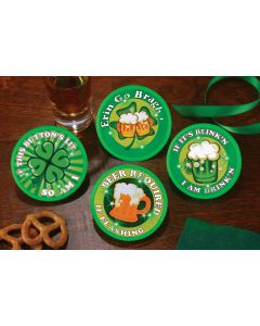 Lite-Up St. Pat's Button