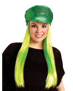 St. Pat's Sequin Hat & Wig