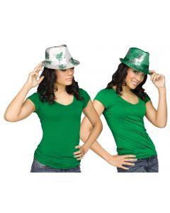 5398 St. Pat's Sequin Fedora Hat Assortment