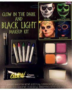 Glow in The Dark & Black Light Makeup Kit