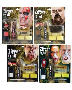 Deluxe FX Zipper Kits Assortment