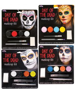 Day of the Dead Makeup Kit Assortment
