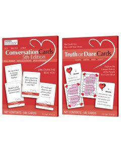Truth or Dare/Conversation Cards Assortment