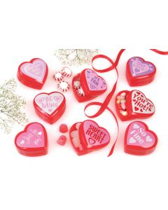 Heart Candy Containers