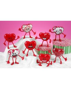 Bendy Buddy Heart Container