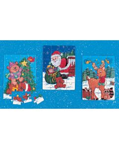 3 Pack Holiday Puzzles