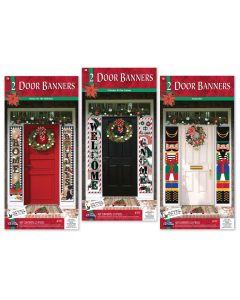 Holly Day Door Banner Assortment