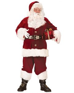 Plus Size Super Deluxe Santa Suit