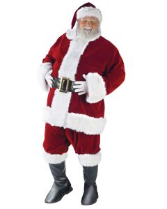 Plus Size Ultra Velvet Santa Suit