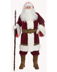 Plus Size Deluxe Old Time Santa