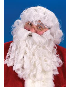 Deluxe Santa Wig & Beard Set