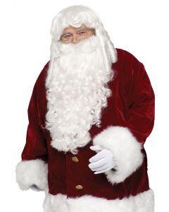 Super Deluxe Santa Wig & Beard Set