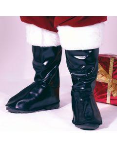 Deluxe Vinyl Santa Boot Tops