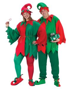Plus Size Elf Set
