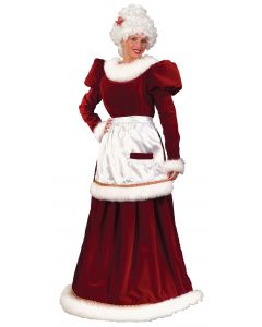 Velvet Mrs. Claus