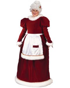 Plus Size Velvet Mrs. Claus