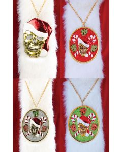 Santa Bling Medallions