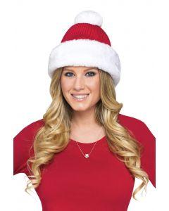 Knit Cap Santa Hat
