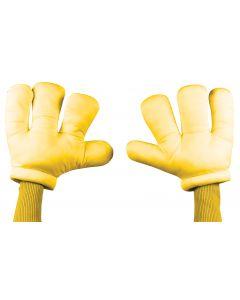 Cartoon Hands - Yellow