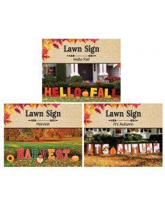 Harvest Yard Signs