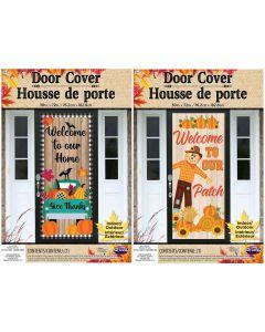 """Harvest 30"""" x 72"""" Door Cover Assortment"""