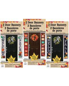 Harvest Door Banners Assortment