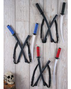 Double Ninja Sword Set