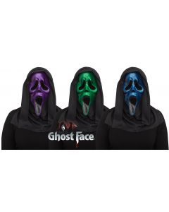 Ghost Face® Metallic Mask Assortment