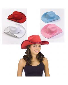 Sequin Cowboy Hat Assortment