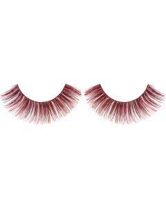 Black/Red False Eyelashes