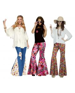 Flower Child Bell Bottoms